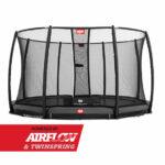 BERG InGround Champion Grey 380 + Safety Net Deluxe