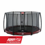BERG InGround Elite Red 380 + Safety Net Deluxe