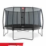 BERG Elite Grey 380 + Safety Net Deluxe
