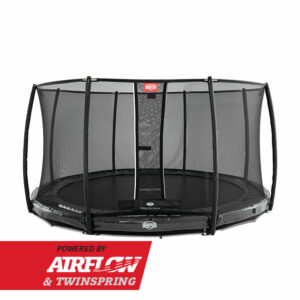 BERG InGround Elite Grey 380 + Safety Net Deluxe