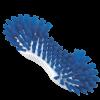 Schrob-borstel kookbestendig blauw
