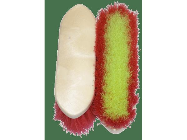 Paardenborstel kleur assorti 20 cm