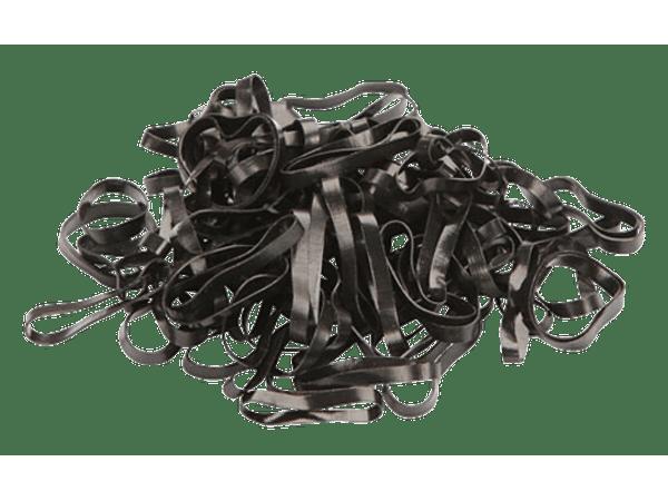Elastiekjes Siliconen zwart