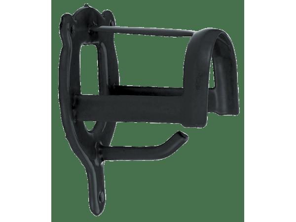 Halsterhouder kunststof zwart