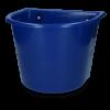 Voerbak 15 l met ophang donkerblauw