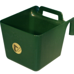 Voerbak met ophang en handgreep groen 11 l KS