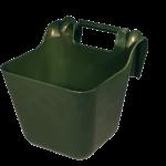 Voerbak met ophangbeugel groen 14 l KS